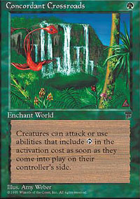Magic the Gathering Chronicles Single Concordant Crossroads - NEAR MINT (NM)