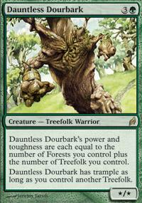 Magic the Gathering Lorwyn Single Dauntless Dourbark - NEAR MINT (NM)