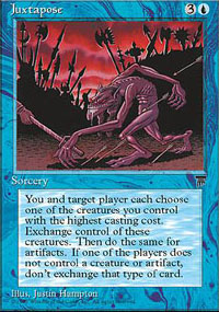 Magic the Gathering Chronicles Single Juxtapose UNPLAYED (NM/MT)