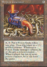 Magic the Gathering Chronicles Single Serpent Generator - NEAR MINT (NM)