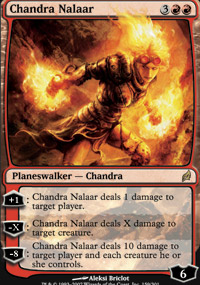 Magic the Gathering Lorwyn Single Chandra Nalaar - NEAR MINT (NM)