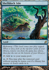 Magic the Gathering Lorwyn Single Shelldock Isle UNPLAYED (NM/MT)