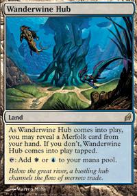 Magic the Gathering Lorwyn Single Wanderwine Hub - NEAR MINT (NM)