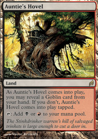 Magic the Gathering Lorwyn Single Auntie's Hovel UNPLAYED (NM/MT)