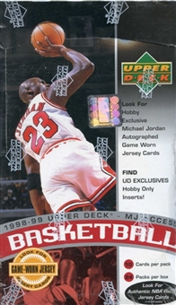1998/99 Upper Deck Series 2 MJ Access Basketball Hobby 24 Pack Lot