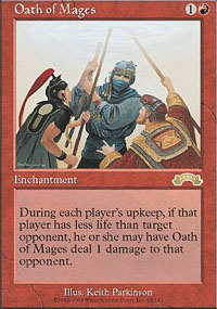 Magic the Gathering Exodus Single Oath of Mages UNPLAYED (NM/MT)