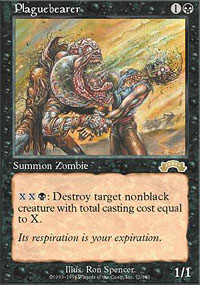 Magic the Gathering Exodus Single Plaguebearer - NEAR MINT (NM)