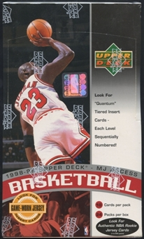 1998/99 Upper Deck Series 2 MJ Access Basketball Retail Box