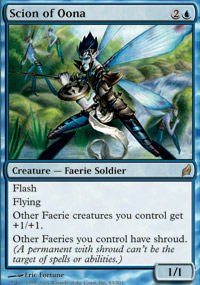 Magic the Gathering Lorwyn Single Scion of Oona - MODERATE PLAY (MP)