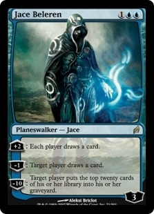 Magic the Gathering Lorwyn Single Jace Beleren FOIL NEAR MINT (NM)