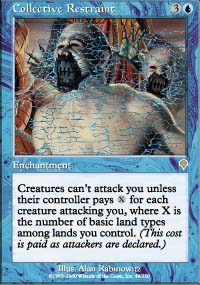 Magic the Gathering Invasion Single Collective Restraint - NEAR MINT (NM)