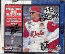 2002 Press Pass Racing Hobby Box