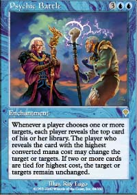 Magic the Gathering Invasion Single Psychic Battle - NEAR MINT (NM)