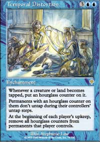 Magic the Gathering Invasion Single Temporal Distortion - NEAR MINT (NM)