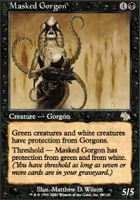 Magic the Gathering Judgment Single Masked Gorgon - NEAR MINT (NM)