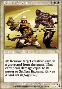 Magic the Gathering Judgment Singles 4x Selfless Exorcist - NEAR MINT (NM)