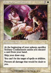Magic the Gathering Judgment Single Solitary Confinement FOIL
