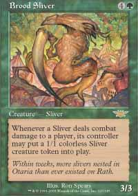 Magic the Gathering Legions Single Brood Sliver - NEAR MINT (NM)