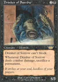 Magic the Gathering Legions Singles 4x Drinker of Sorrow - NEAR MINT (NM)