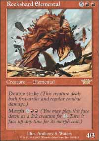 Magic the Gathering Legions Single Rockshard Elemental UNPLAYED (NM/MT)