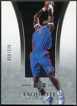 2004/05 Upper Deck Exquisite Collection #10 Ben Wallace /225