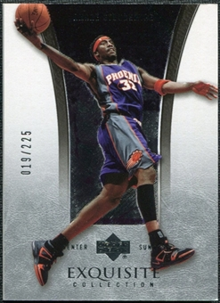 2004/05 Upper Deck Exquisite Collection #30 Amare Stoudemire /225