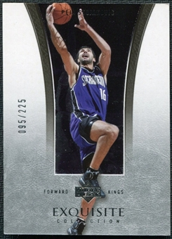2004/05 Upper Deck Exquisite Collection #33 Peja Stojakovic /225