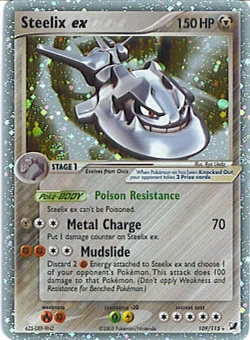 Pokemon Unseen Forces Single Steelix ex 109/115