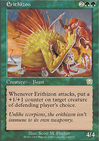 Magic the Gathering Mercadian Masques Single Erithizon - NEAR MINT (NM)