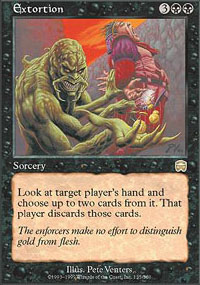 Magic the Gathering Mercadian Masques Single Extortion - NEAR MINT (NM)