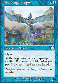 Magic the Gathering Mercadian Masques Single Extravagant Spirit - NEAR MINT (NM)