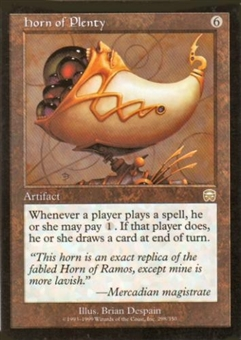 Magic the Gathering Mercadian Masques Single Horn of Plenty - NEAR MINT (NM)