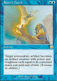 Magic the Gathering Mercadian Masques Single Karn's Touch - NEAR MINT (NM)