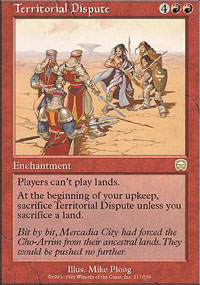 Magic the Gathering Mercadian Masques Single Territorial Dispute UNPLAYED (NM/MT)