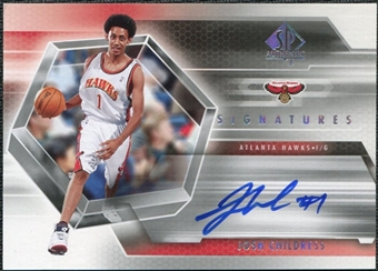 2004/05 Upper Deck SP Authentic Signatures #JC Josh Childress Autograph
