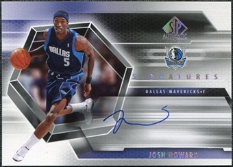 2004/05 Upper Deck SP Authentic Signatures #JH Josh Howard Autograph