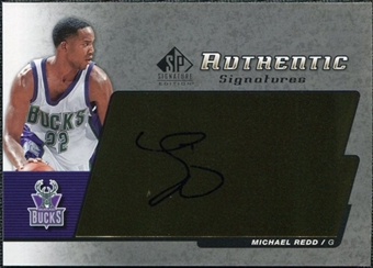 2004/05 Upper Deck SP Signature Edition Signatures #MR Michael Redd Autograph
