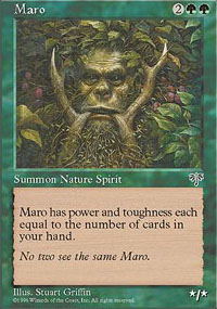 Magic the Gathering Mirage Single Maro - NEAR MINT (NM)