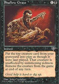 Magic the Gathering Mirage Single Shallow Grave - NEAR MINT (NM)