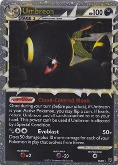 Pokemon Unseen Forces Single Umbreon ex 112/115