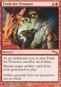 Magic the Gathering Mirrodin Single Trash for Treasure - NEAR MINT (NM)