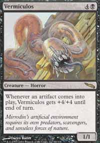 Magic the Gathering Mirrodin Single Vermiculos - NEAR MINT (NM)