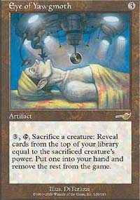 Magic the Gathering Nemesis Single Eye of Yawgmoth - NEAR MINT (NM)