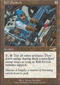 Magic the Gathering Nemesis Single Kill Switch Foil
