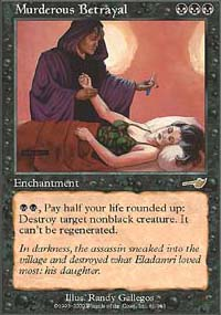 Magic the Gathering Nemesis Single Murderous Betrayal - NEAR MINT (NM)