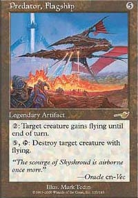 Magic the Gathering Nemesis Single Predator, Flagship Foil