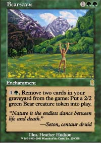 Magic the Gathering Odyssey Single Bearscape - NEAR MINT (NM)