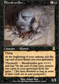 Magic the Gathering Odyssey Single Bloodcurdle UNPLAYED (NM/MT)