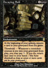 Magic the Gathering Odyssey Single Decaying Soil - NEAR MINT (NM)