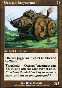 Magic the Gathering Odyssey Singles 4x Otarian Juggernaut - NEAR MINT (NM)